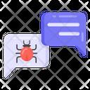 Chat Virus Icon