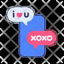 Chat Quarantine Smartphone Icon