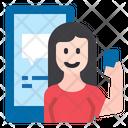 Chat Woman Female Communication Icon