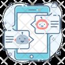 Chat Bubbles Communication Conversation Icon