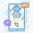 Chatbot Robo Advisor Virtual Assistant Icon