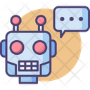 Chatbot Robot Live Chat Icon