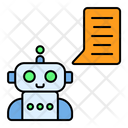 Chatbot Artificial Intelligence Robot Icon
