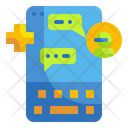 Chatbot Healthcare Medical Help Medical Icon