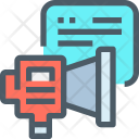 Promote Chatting Promotion Icon
