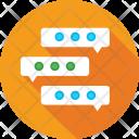 Chatting Communication Speech Icon