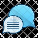 Chat News Communication Icon