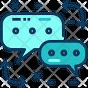 Travel Blue Translate Icon