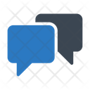 Chat Conversation Seo Icon