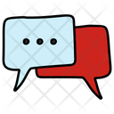 Chatting Comments Forum Discussion Icon