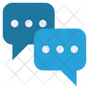 Chatting Conversation Finance Icon
