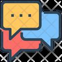 Seo Chatting Bubble Icon
