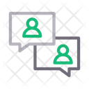 Chat Conversation Discussion Icon