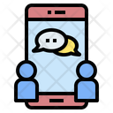 Chat Online Social Icon