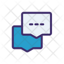 Chatting Service Help Icon