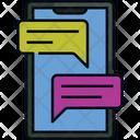 Chatting Free Time Social Media Icon