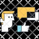 Chatting Message Communication Icon