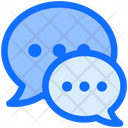 Business Finance Chatting Icon