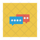 Chatting Bubble Conversation Icon