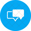 Chatting Chat Bubbles Icon