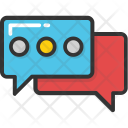 Chatting Chat Bubble Icon