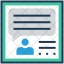 Chitchat Talking Chat Icon