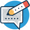 Chat Write Message Icon