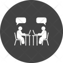Chatting Human Activitiy Icon