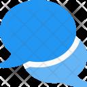 Talk Bubbles Chat Icon