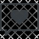Chatting Communication Love Icon