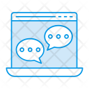 Chatting Browser Chat Icon