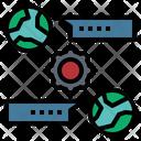 Communicate Planet Contact Icon