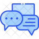 Chatting Color Icon