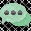 Chatting bubbles Icon