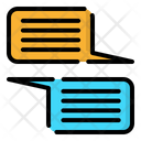Chat Client Communication Icon
