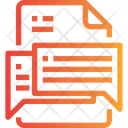 Chatting file Icon