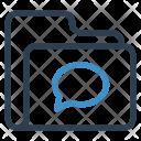 Chatting Folder Archive Icon