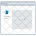 Chatting Layout Icon