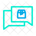 Chatting Package Icon
