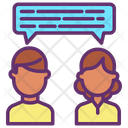 Chatting Users Icon