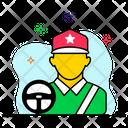 Driver Bus Driver Truck Driver Icon