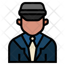 Chauffeur Driver Job Icon