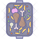 Chicken Meal Legs Icon