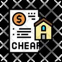 Cheap House Construction Icon
