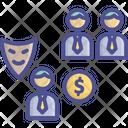 Cheat Corruption Deceive Icon