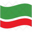 Flag Country Chechen Republic Icon