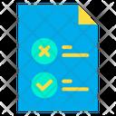 Checklist Planning Strategy Icon