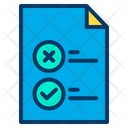 Checklist Planning Strategy Icon