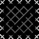 Check Square Arrow Icon