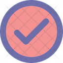Check Round Checked Icon
